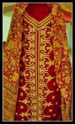 Buy Gujrati Embroidery On Suit Piece Online