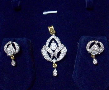 Shining ad-cz pendant set 21