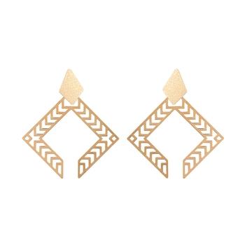 Adwitiya Collection  24K Gold Plated Designer Dangle & Drop Earring For Women