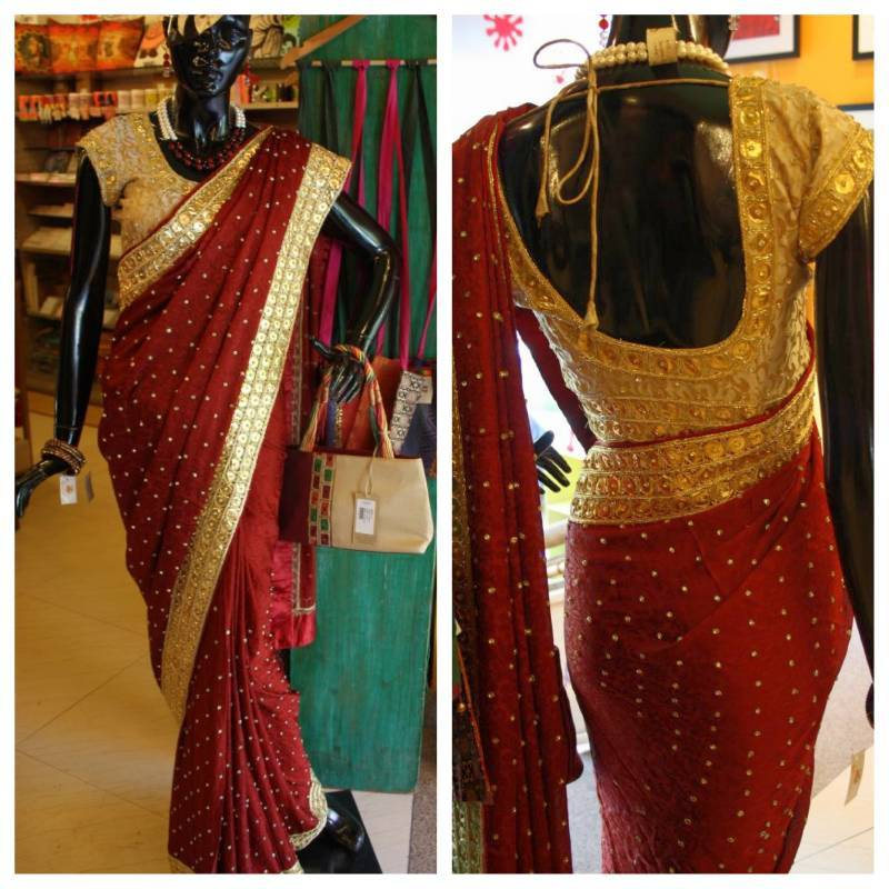 Buy Gota Patti Saree Online
