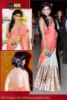 Bollywood Replica Chitrangna singh Designer saree