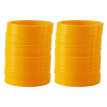 Extra Large Size  Acrylic Bangles Color Yellow
