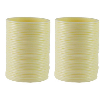 Extra Large Size  Acrylic Bangles Color Cream