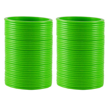 Extra Large Size  Acrylic Bangles Color Green