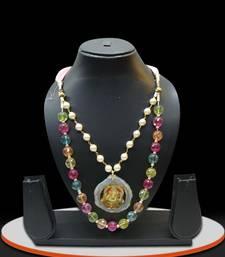 Buy Multicolor kundan necklace-sets necklace-set online