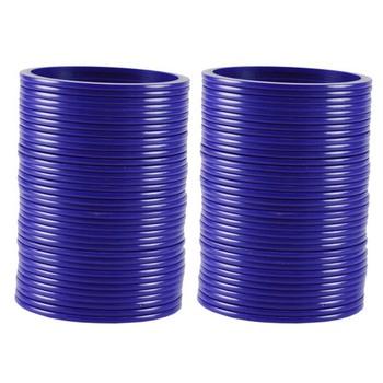 Extra Large Size  Acrylic Bangles Color Dark Blue
