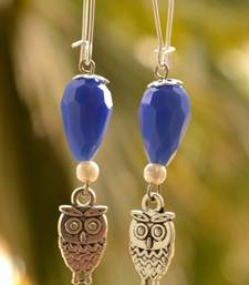 Buy owl Designer Pair of Earrings danglers-drop online