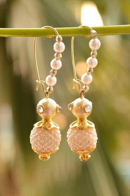 Nizam bead Designer Pair of Earrings