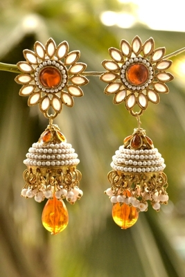 Designer Pair of Earrings