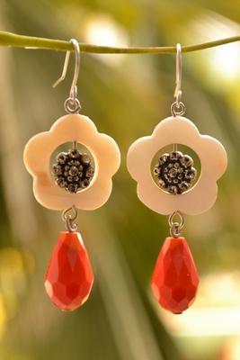 Designer floral Pair of Earrings