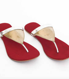 Radiant Red Triangle flat