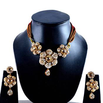 Rajasthani Lakh Necklace With Earing