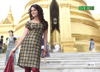 Pure cotton dressmaterial with cotton duppata