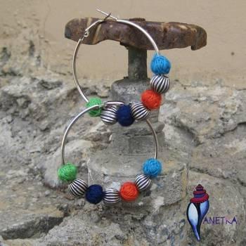 Multi Bali earring