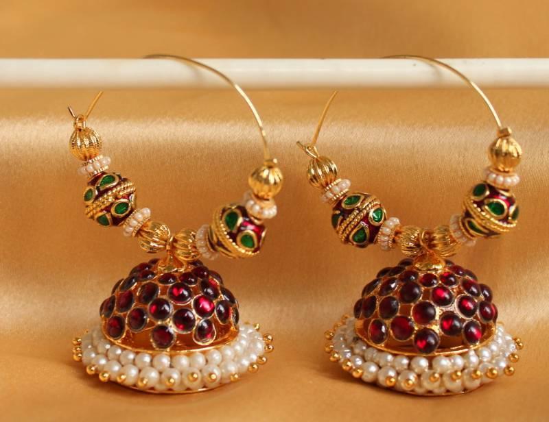 Hoops Online Shopping | Buy Designer Hoop Earrings Online