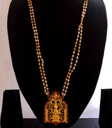 Buy Laxmi necklace(pearl) Necklace online