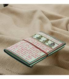 Buy Recycled Handmade Paper Travellers Diary_20 stationery online