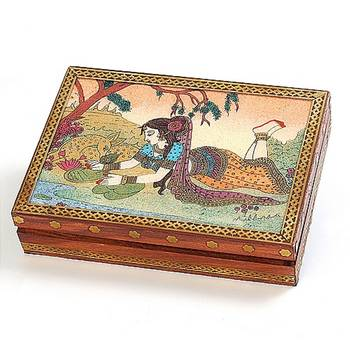 Real Gem Stone Jewellery Box-010