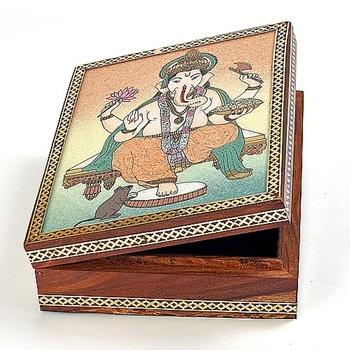 Real Gem Stone Jewellery Box-018