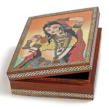 Real Gem Stone Jewellery Box-019