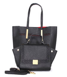 Buy Black fashion tote bag tote-bag online