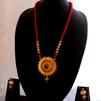Laxmi necklace set