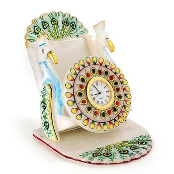 Marvel In Marble -Watch And Mobile Holder-033