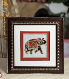 Buy Hand Painted Elephant Hanging wall-art online