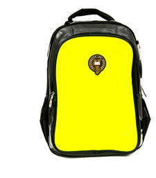 Buy Fluroscent  Yellow plain backpacks backpack online