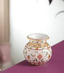 Buy JAAL design Gold work Marble Pot pot online