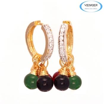 Vendee Colorful fashion diamond earring jewelry 6816