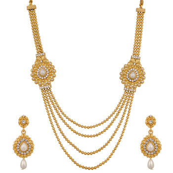 Polki Design Bridal Necklace Set