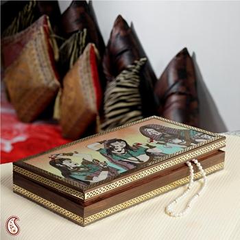 Ragini design Gemstone Jewel box