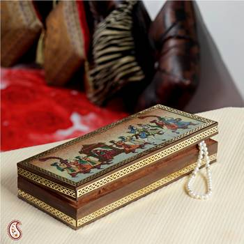 Palanquin Gemstone Jewel box