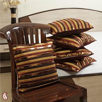 Patchwork Cushions in silk