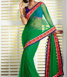 Buy Winter fashion designer saree congratulation-gift online