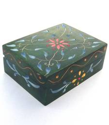 Buy Carved Marble Box - Green other-home-accessory online