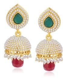 Buy Amazing Gold Plated Pearl Jhumki For Women jhumka online