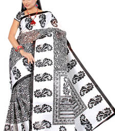 Pavecha's  Mangalgiri Cotton Blend Printed Saree MK650