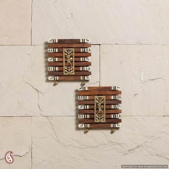 Superb Dhokra Work & Warli paint wall hanging set