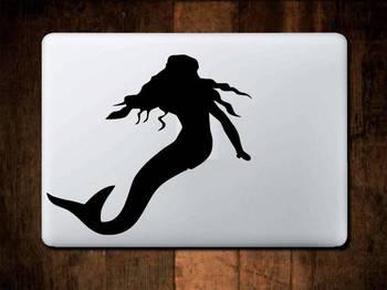 Mermaid laptop decal