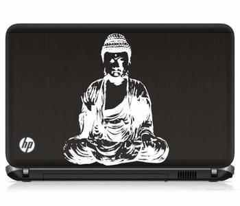 Buddha laptop decal