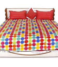 Buy Multicolor printed Polyester Quilts quilt online