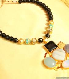 Black Onyx Real Look Necklace Set