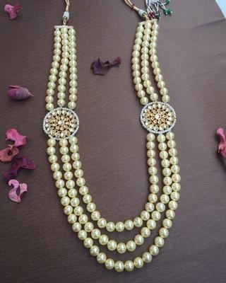 Stunning Pearl & Kundan Necklace