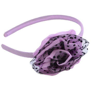 Charming Purple Rose Hair Jewellery/ Hair Band For Girls/Kids