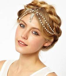 Buy The Beaded Headband with Tassel maang-tikka online