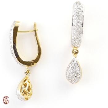 Fabulous Earring Set with American Diamonds