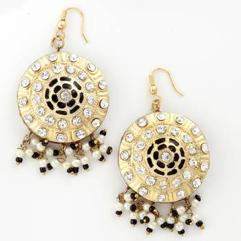 Royale Pair Of Handcrafted Lacquer Earrings_32