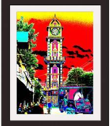 Buy Clock Tower Art Print painting online
